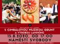 Restaurant Day Jeseník na Letní slavnosti s cimbálovkou GRUNT a výrobou lampiónů